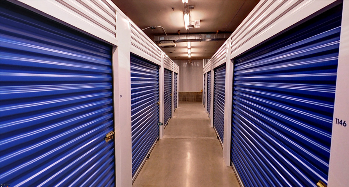 ... View down a corridor of storage units at MySpace Self Storage at various locations in Central ... & About Our Self Storage Units | MySpace Self Storage